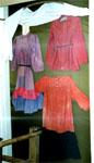 Домотканые платья. Конец XIX в.