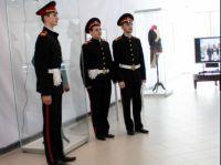 Открытие выставки, посвящённой 200-летию победы в Отечественной войне 1812 года. Музей геологии, нефти и газа.