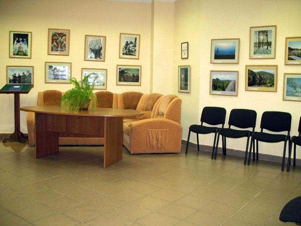 Экспозиции: Гостевой зал