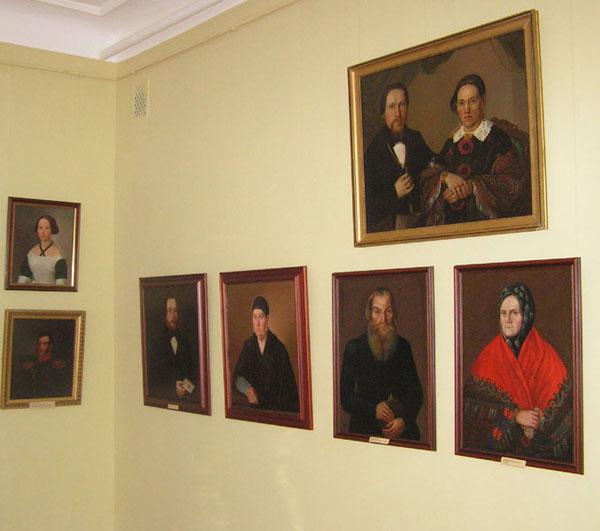 Экспозиции: Ярославский портрет  - русское искусство XVIII-XX веков