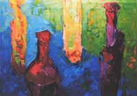 Звуки цвета Алексея Грейна в Центральном доме художника