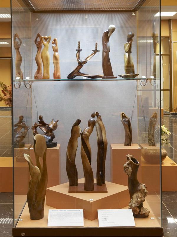 Экспозиции: Природа и творчество