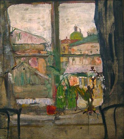Экспозиции: А.И.Савинов. Окно. 1919. Курганский художественный музей
