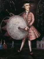 Розовый барабанщик