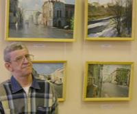 Выставка  Виктора Мануилова Рыбинску посвящается…