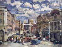 Выставка  живописи Николая Буртова