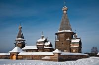 Почозерский погост XVIII века - памятник федерального значения. Фото К. Кокошкина