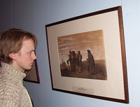 На выставке Рисунок и акварель в России. Вторая половина ХIХ века