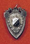 Знак нагрудный С.П.Б.-К.Л.С. Хухтинена И.Д.