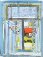 Мои окна. 1998.Акв.