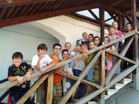 Гости из Москвы после экскурсии