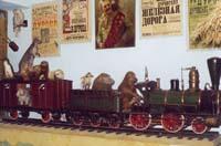 Большая Дуровская железная дорога (макет)