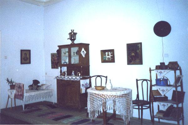 Экспозиции: Фрагмент выставки История г. Сортавала 1940-1950-м. Старая квартира