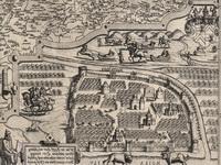 Москва, карта Северных стран, издатели братья Детекумы, сер XVI в, Голландия.