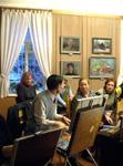 Мастер-класс для участников рисовальных понедельников
