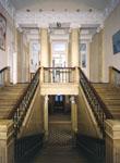 Прадная лестница Российской Академии художеств