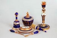 Французский фарфор и стекло в коллекции Павловского дворца