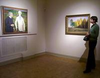 Открытие выставки Времена года. Русский музей 21 декабря 2006 года