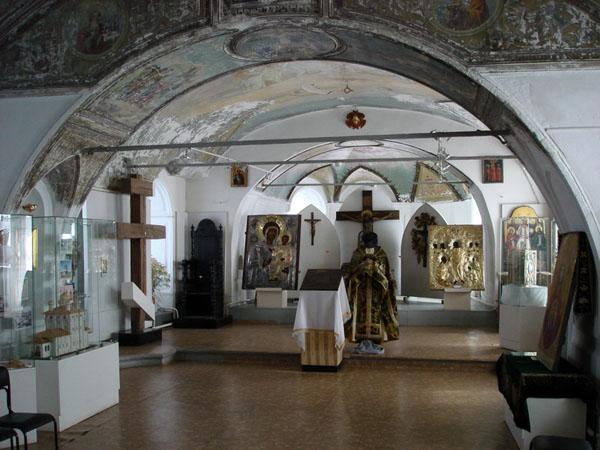 Экспозиции: Экспозиция (1 этаж Музей истории веры)
