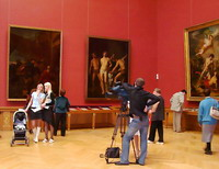 Открытие выставки Академия художеств в Русском музее 18 мая 2007 года