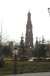 Богоявленская колокольня на ул. Баумана. Вид из университетского двора