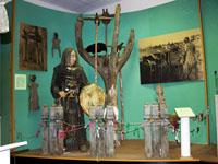 Фрагмент экспозиции Религиозные верования народа саха