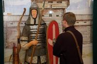 На выставке Золотарёвское городище. Легенды и быль