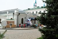 Талисман Универсиады 2013 – Барсик Юни приветствует гостей Казанского Кремля!