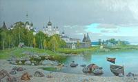 П.М. Гречишкин. Соловки.1990 год