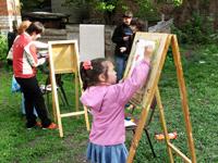 Участники акции Народный вернисаж. 2009 г.