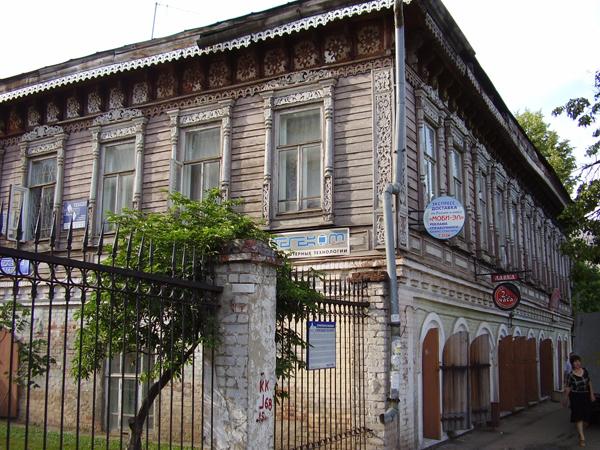 Значимые места: Бывший дом купца Наумова