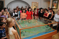 На выставке Старинный город с русскою душою