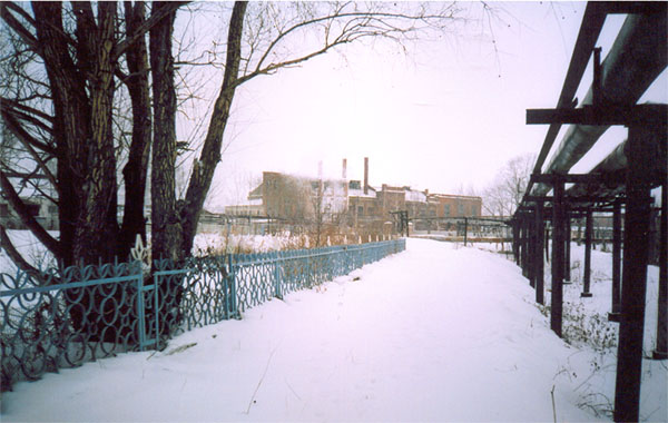 Значимые места: Дизельная электростанция при заводе Ушковых. Построена в 1917 г.