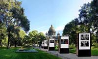 Выставка в Александровском саду