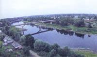 Мост через реку Западная Двина
