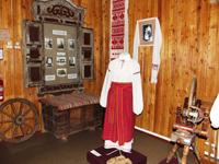 Фрагмент экспозиции Крестьянский быт конца XIX - начала ХХ вв.