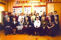 Встреча фронтовых друзей с Героем Советского Союза Евдокимовым