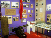 Экспозиционный зал Великая Отечественная война