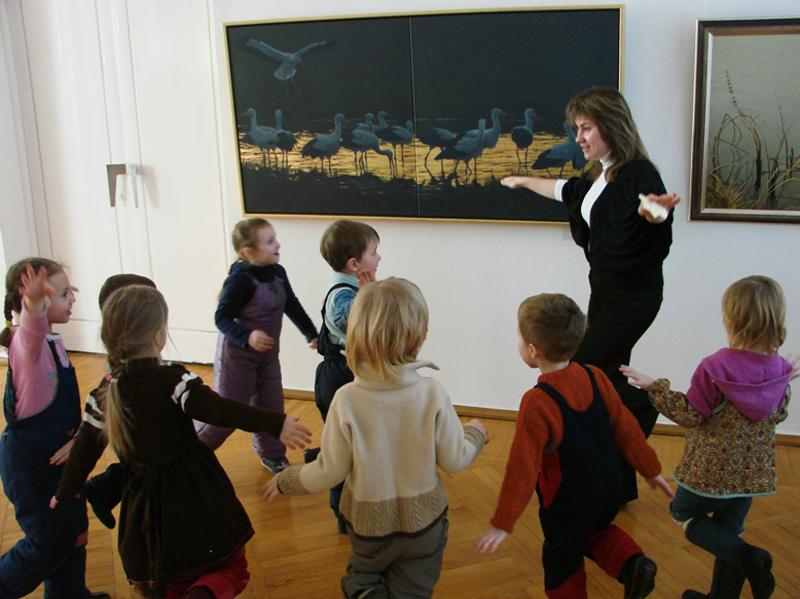 Значимые места: Музейное занятие