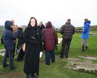 Меняющиеся музейщики осмотрели Стену Адриана и Эдинбург