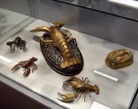 Фрагмент коллекции раков