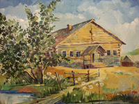 В. Алмаши. Бабушкин домик, 2010