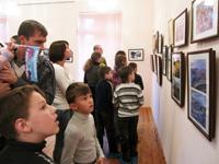 Открытие фотовыставки Полярный глазами горожан, посвящённой  празднованию Дня города