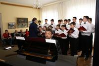 Музыкальный вечер в гостиной Дома Мастера