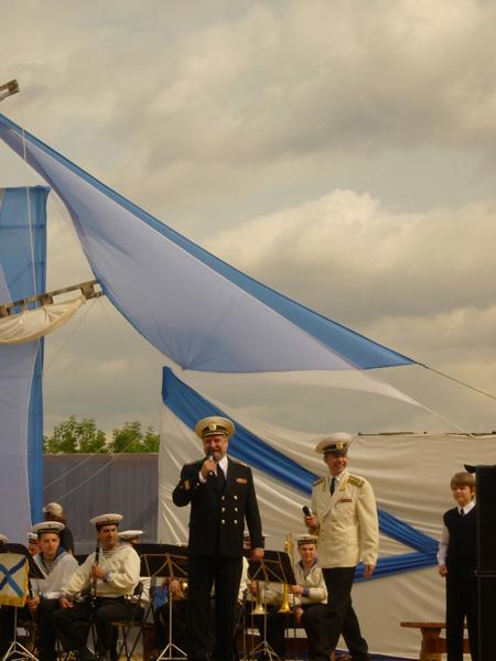 Значимые места: Праздник Под Андреевским флагом в Коломенском