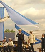 Праздник Под Андреевским флагом в Коломенском