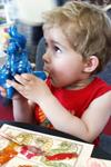 Занятия по росписи игрушек и лубка