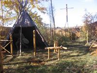 Ритуальная площадка эвенков