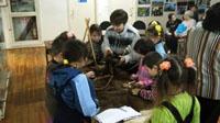 Обряд коряков Пробуждение деревянной куклы Гичгий