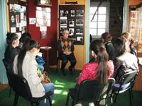 Лекция директора музея студентам университета